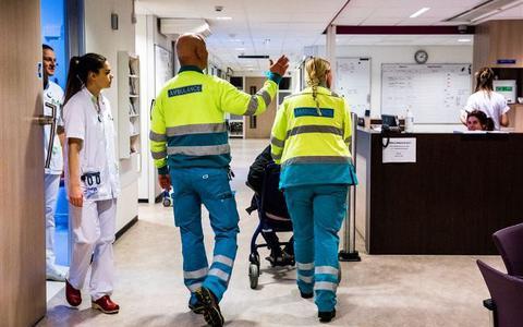 Het is stil op de spoedeisende hulp in Friesland en dat geeft zorgen in de ziekenhuizen