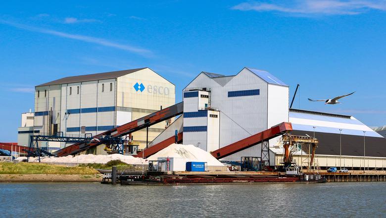 Frisa Zout, onderdeel van ESCO (European Salt Company). FOTO LC/ARODI BUITENWERF