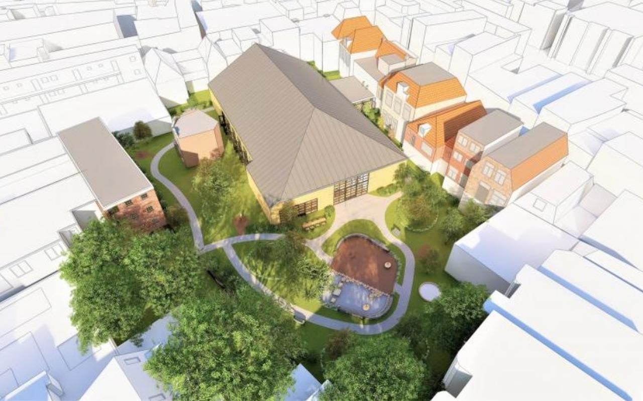 Afbeelding van het voorstel door Turfmarkt BV.