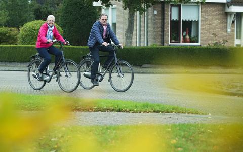 70-plusser fietst te weinig, Doortrappen-campagne moet daar verandering in brengen