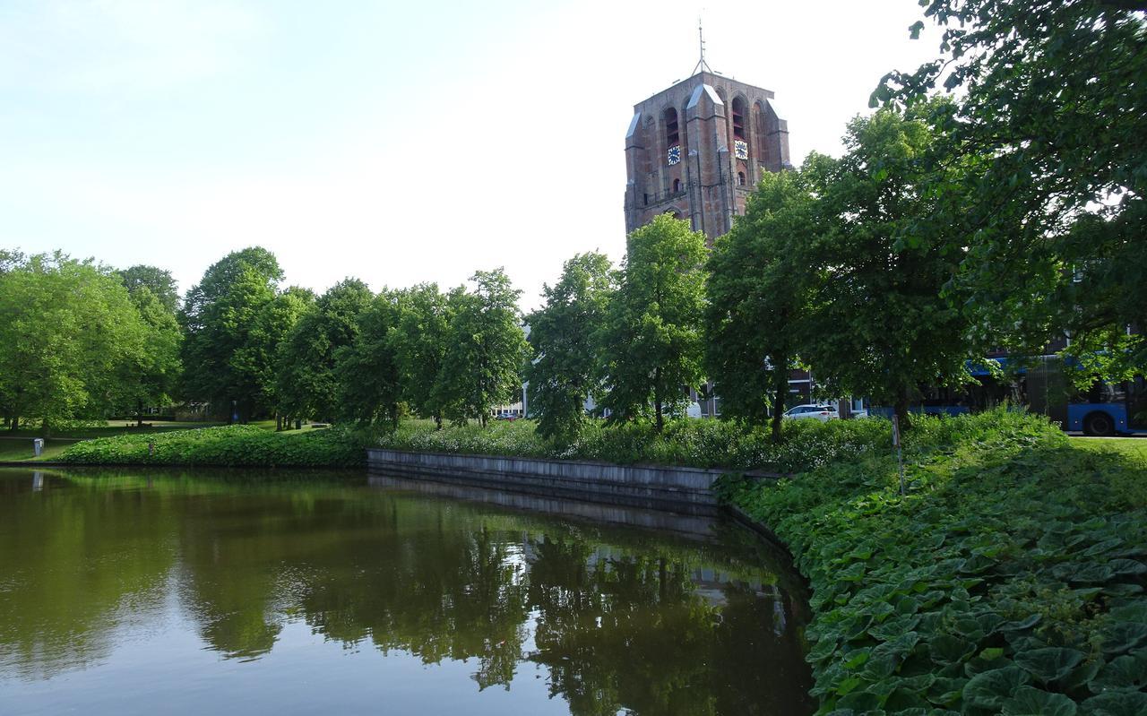 De door Roodbaard ontworpen Prinsentuin in Leeuwarden.