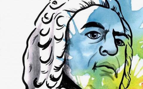 Een Friestalige Bach-cantate onder discoballen