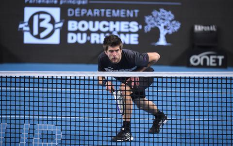 Tennisser Sander Arends uit Leeuwarden bereikt tweede ronde op Wimbledon