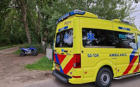 Quadrijder gewond bij ongeval Drogeham