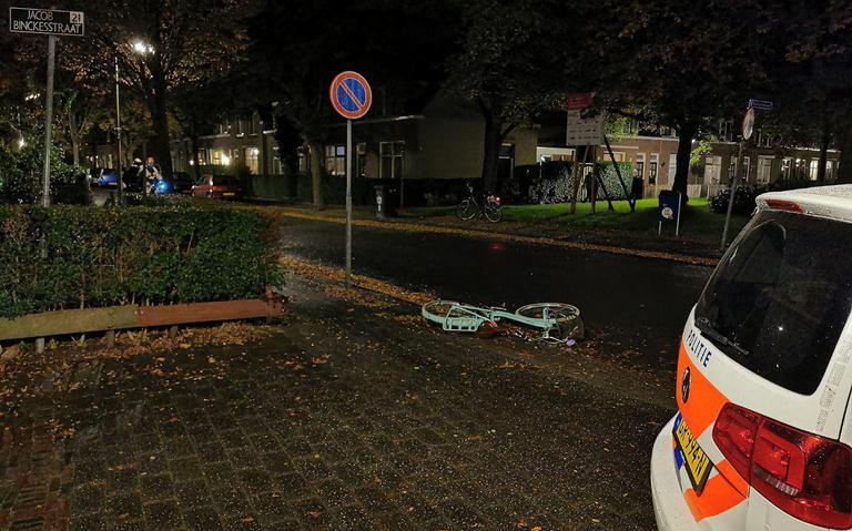 Meisje op fiets gewond na ongeval in Leeuwarden.