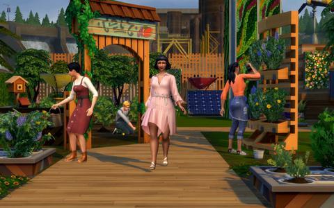 Gamereview   Een groenere wereld in Sims 4
