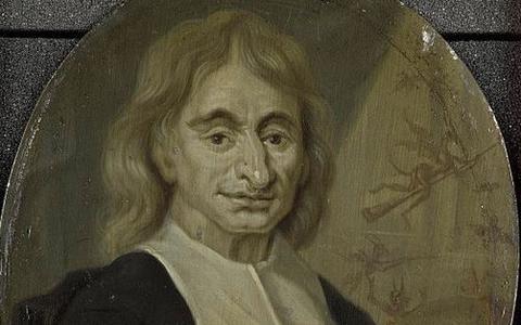 Predikant Balthasar Bekker verhuist van voor naar achter de Franeker Martinikerk