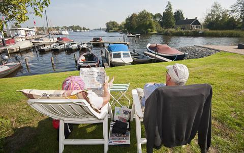 Toeristen komen minder vaak, maar blijven wel langer in Friesland