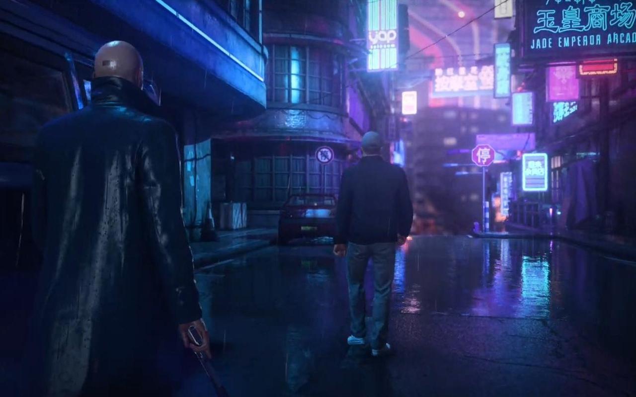 Een scène uit Hitman 3.