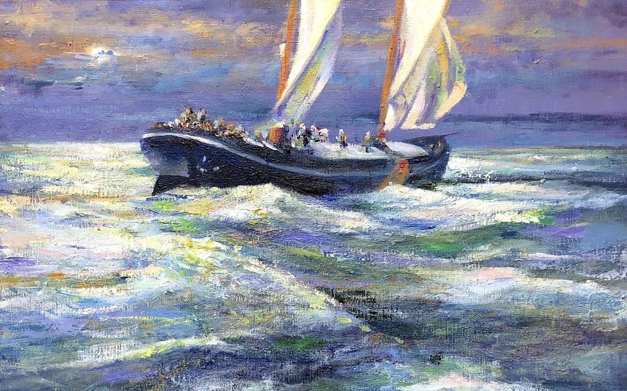 Klaas Werumeus - Nachtboot