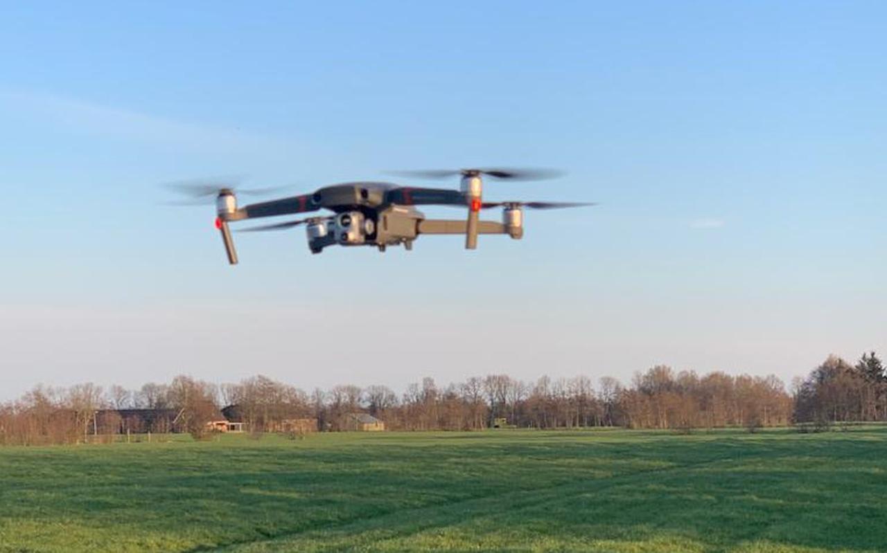 De drone van de jager van It Bûtenfjild.