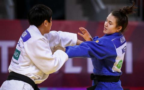 Judoka Natascha Ausma klopt trainingsmaatje in finale en boekt grootste succes