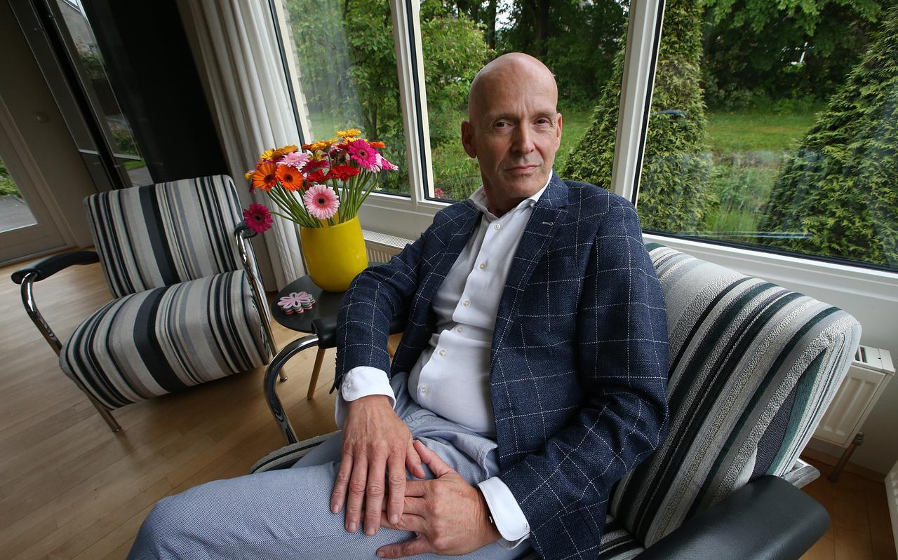 Piet Fortuin, de baas van vakbond CNV.