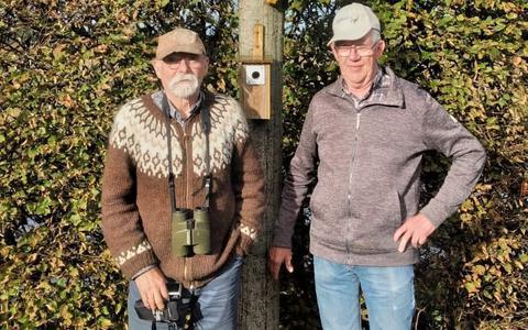 Arend Timmerman (links hier met veldwerker Germ de Vries): 'De zoektocht zetten we natuurlijk gewoon voort'.