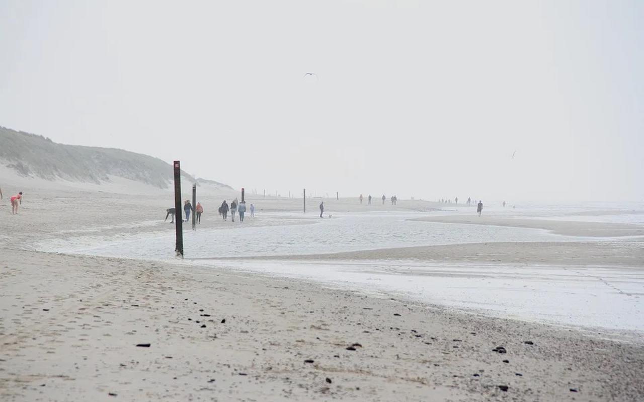 Strand op Texel.