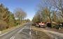 De N351 tussen Oldeberkoop en Nijeholtpade.