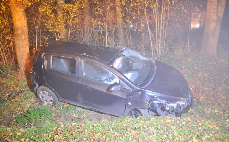 Vrouw gewond bij eenzijdig ongeval Oosterwolde.