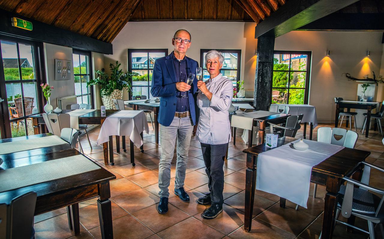 Melle en Hanny Bakker gaven de op zijn oud-Hollands ingerichte boerderij destijds een grondige metamorfose.