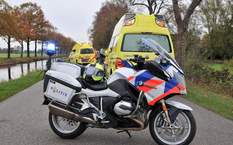 Mountainbiker gewond bij ongeval Haulerwijk.