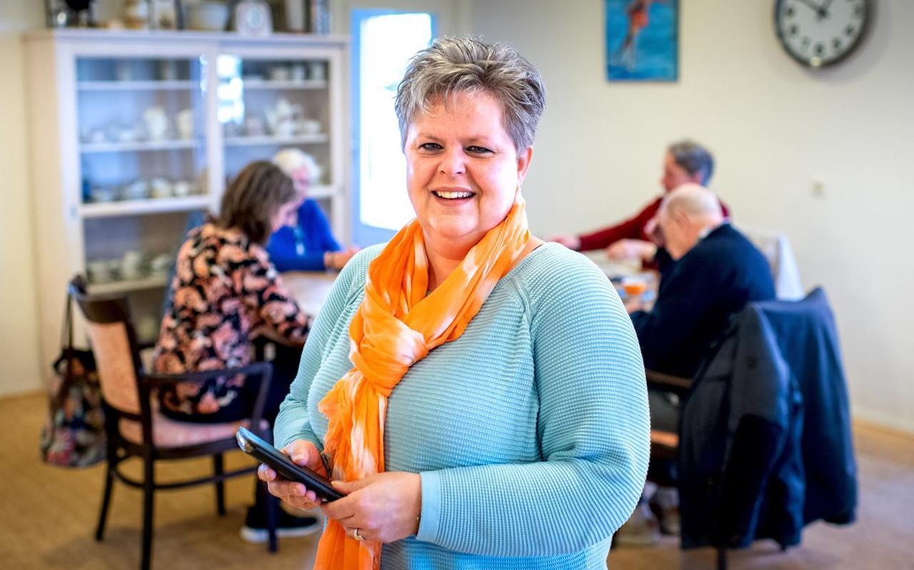 Micheline is sociaal werker bij de MOS in Smallingerland en bemande het afgelopen coronajaar een 'hulplijn' voor inwoners Smallingerland.