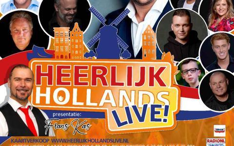 De promoposter van Heerlijk Hollands Live Sneek