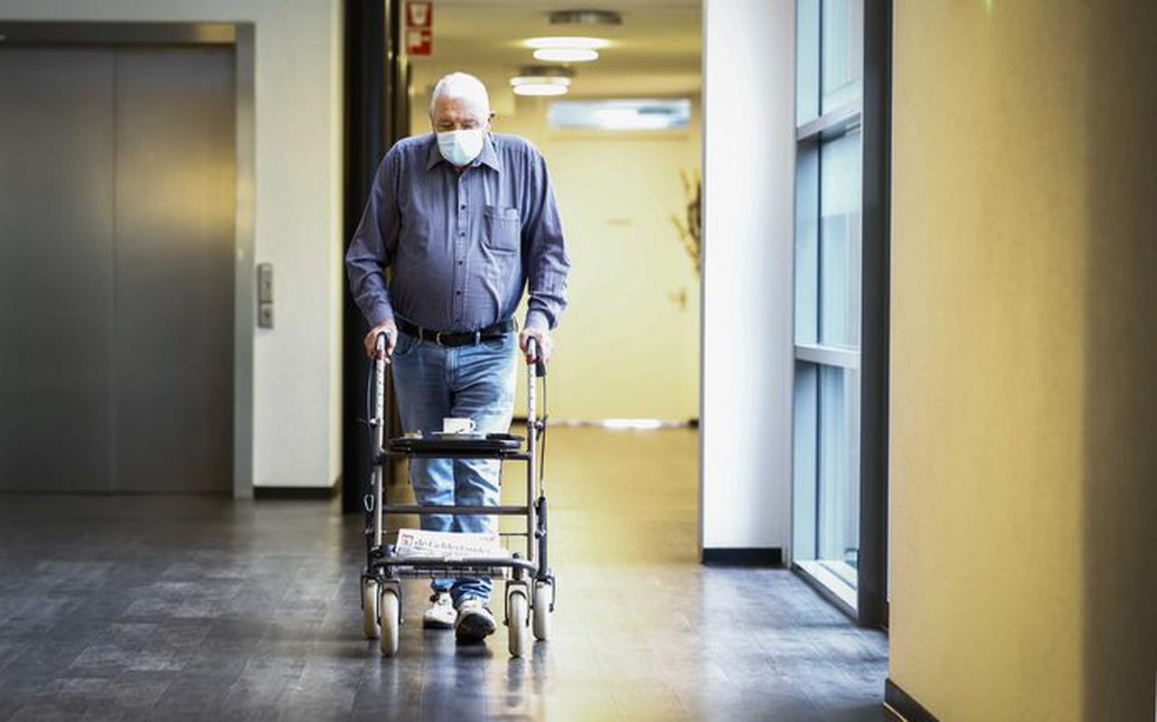 In de verpleeghuizen is het momenteel stil (foto ter illustratie). FOTO ANP