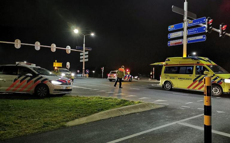 Drie voetgangers aangereden door auto in Lemmer.