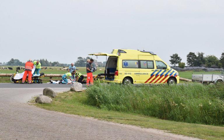 Fietser ernstig gewond bij aanrijding in Augsbuurt.