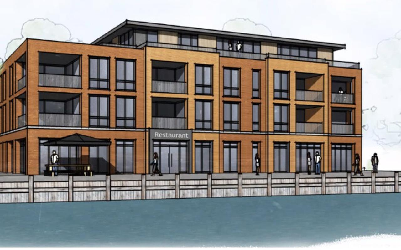 Architect De Wolff&Partners kreeg met het voorlopige ontwerp de handen bij de welstandscommissie nog niet op elkaar.