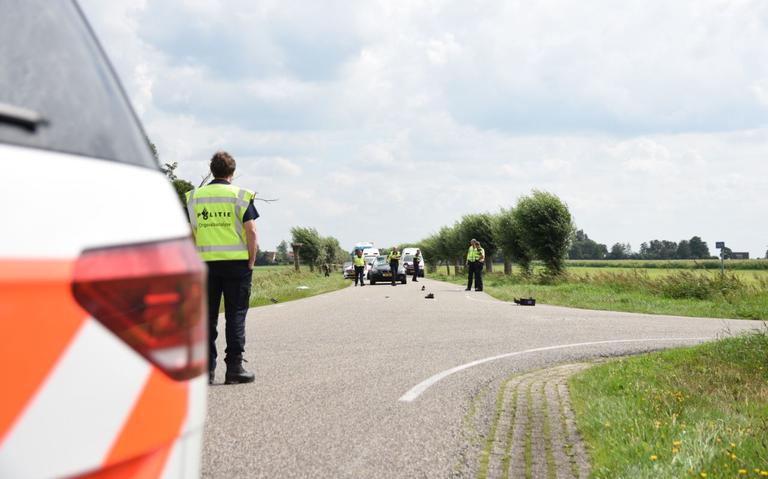 Fietser overleden bij aanrijding met auto bij Rotsterhaule.