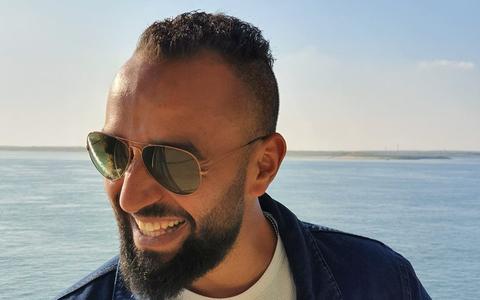 Hady Nasser (28) stierf na een bedrijfsongeval in Bolsward. Vriendin Monique: 'Onze liefde was zó mooi, hij gaf me troost'