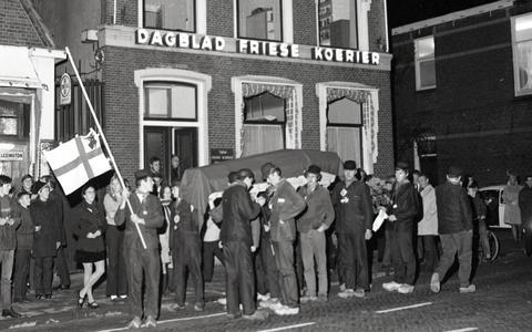 Friese Koerier leeft, na historische fusie, voort als legende