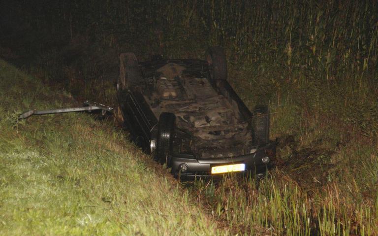 Vrouw gewond bij eenzijdig ongeval Gorredijk.