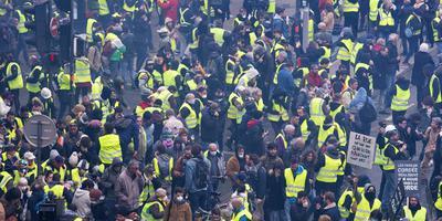 Demonstratie zaterdag in Bordeaux.