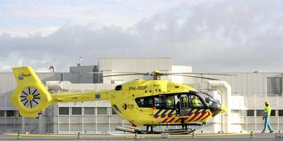 De Waddenheli bij het MCL. Foto LC Scan Robert Speerstra. Helikopter. De nieuwe Waddenheli.