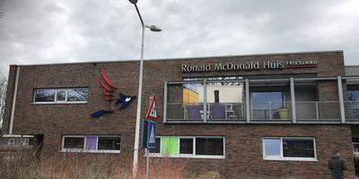 Het sinds 1 november gesloten Ronald McDonald Huis.