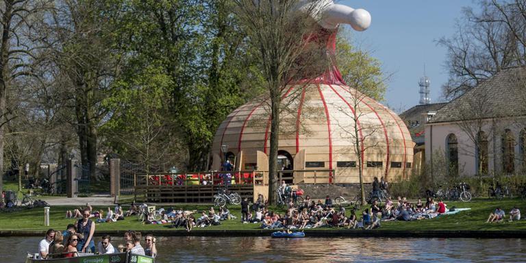 Deze herfst worden het Fries en Leewarders centraal gesteld in talenpaviljoen MeM in de Prinsentuin.