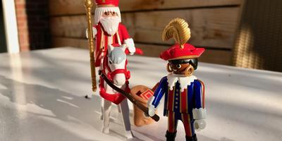 Playmobil verkoopt dit jaar weer 'originele' Zwarte Pieten. Op verzoek van enkele Nederlandse winkels en eenmalig, aldus het bedrijf. FOTO LC