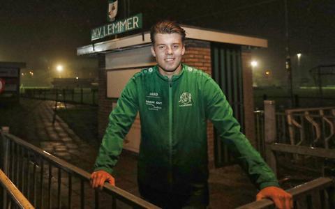 De clubtopscorer van VV Lemmer maakte slechts één doelpunt