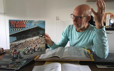 Leeuwarder Otto Kuipers heeft geen motor, maar is wel al een halve eeuw in de ban van de TT