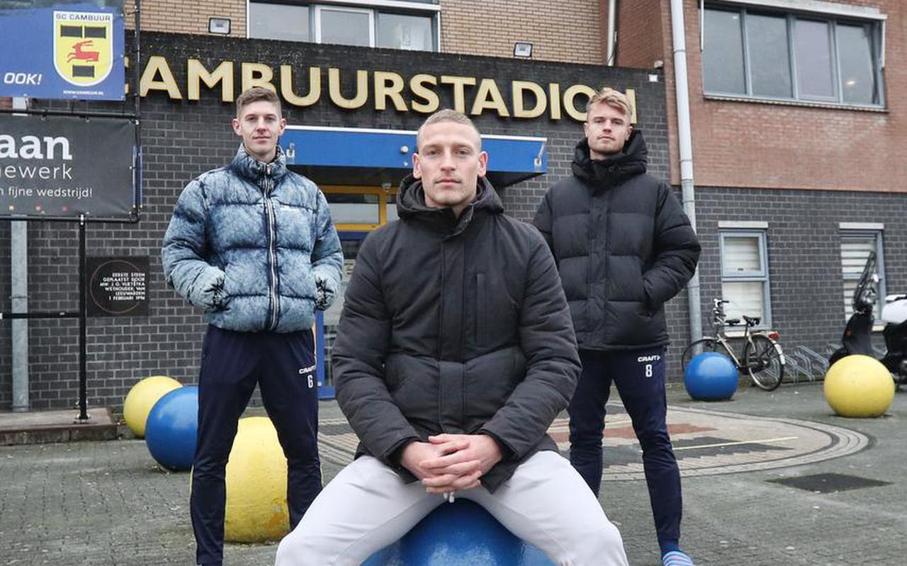 Mees Hoedemakers, Joris Kramer en Jamie Jacobs: uitblinkers bij Cambuur met een verleden bij AZ.