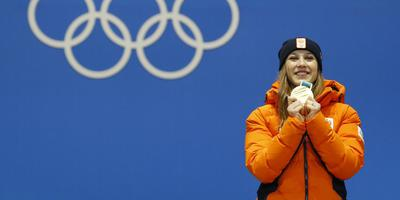 Suzanne Schulting in Pyeongchang.