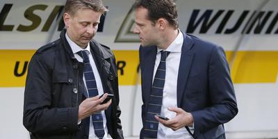 Ard de Graaf (links) met Gerald van den Belt.