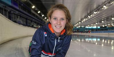 Rianne de Vries: ,,Myn ankel wurdt hieltyd sterker, mar de stappen dy 't ik meitsje, binne lyts.'' FOTO NEEKE SMIT