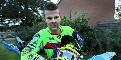 Lucas Dolfing: ,,Ik vind enduro leuker dan motorcross. Je zit langer op een motor.'' Foto Harry Tielman