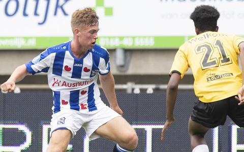 Arjen van der Heide heeft nog tijd, maar moet zich wel bewijzen bij SC Heerenveen