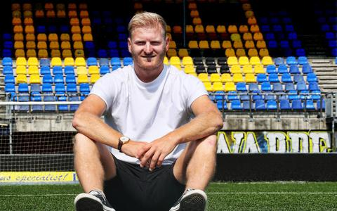 Mart Dijkstra wachtte bij Cambuur op een club waar hij zijn loopbaan kon voortzetten.