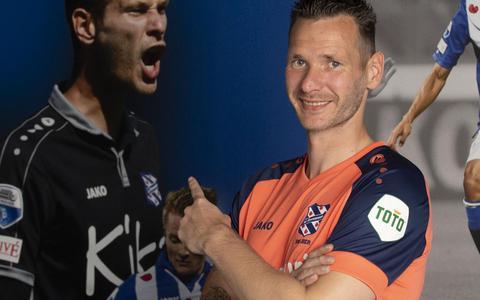 Doelman Erwin Mulder terug in Heerenveen: 'Als je gelukkig bent, kun je presteren'