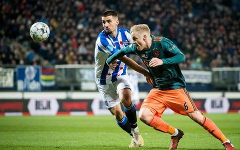 SC Heerenveen staat na tegentreffer weer in de realiteit