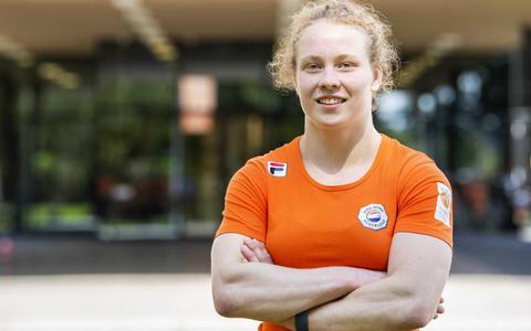 Judoka Sanne Vermeer uit Stiens grijpt naast WK-brons